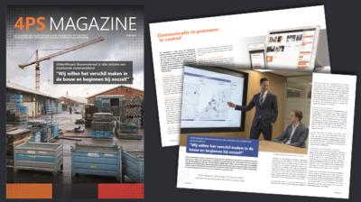 Lees het nieuwe 4PS Magazine digitaal - april 2019