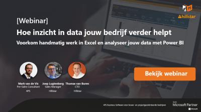 Inzicht in data helpt jouw bedrijf verder