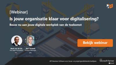 Is jouw bedrijf klaar voor digitalisering?