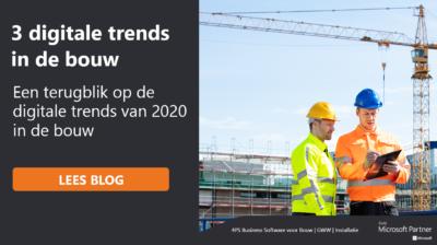 Terugblik op digitale trends voor de bouw