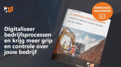 Bedrijfsprocessen in de infra digitaliseren
