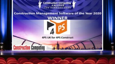 4PS UK wint Construction Management Software of the Year Award