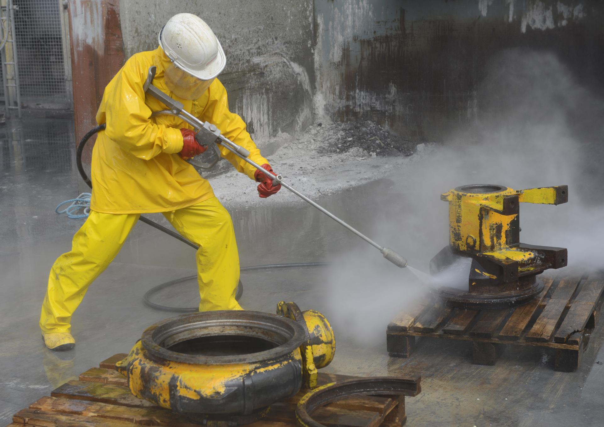 Smet Jet industrial reiniging